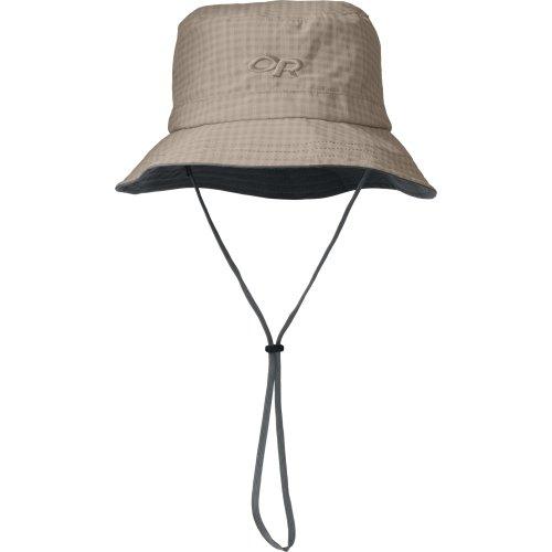 Outdoor Research Lightstorm Bucket Rain Hat, Sandstone, Medium (Bucket Hat Rain compare prices)