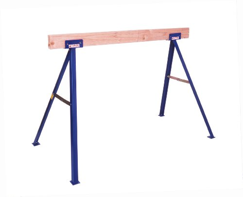 This simple 2x4 sawhorse plans Sawhorse desk legs
