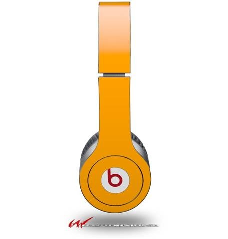 Solids Collection Orange Decal Style Skin (Fits Genuine Beats Solo Hd Headphones - Headphones Not Included)