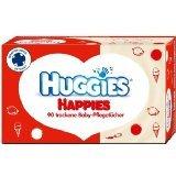 Huggies Happies Pflegetücher 10 Boxen à 80 Tücher