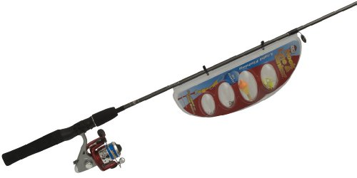 Zebco Hook-Line-Sinker 20SP/HLSS562M Spin Fishing Rod and Reel Combo