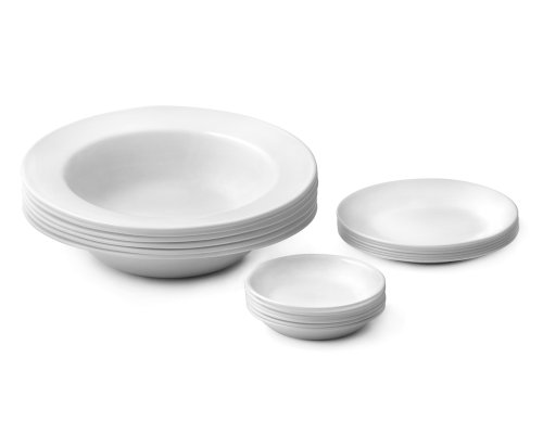 Corelle 18-Piece Italian Night Dinnerware Service Set