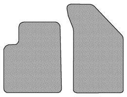 DODGE Journey Floor Mat Carpet Custom Fit OEM (spec.) 2 pc fronts With
