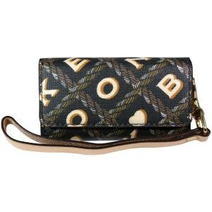 New Dooney Bourke 34-2074-01-Db Horizontal Pouch Made With Superior Materials Craftsmanship