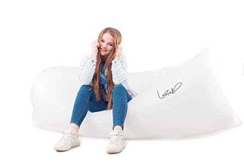 Lahtak™ Blow Up Couch. Inflatable Lounger. Air Filled Sofa. (Shark Tank Products Bed Bugs compare prices)