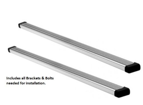 Nissan Armada Running Boards / Side Steps - Fits the 2004, 2005, 2006, 2007, 2008, 2009, 2010, 2011, 2012 and 2013 Nissan Armada (Nissan Armada Nerf Bars compare prices)