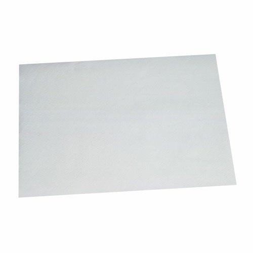 Papstar 12555 Tischsets Papier, 30 x 40 cm, 250 Stück, weiß