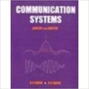 Communication Systems: Analog and Digital 9780074603390 available at Amazon for Rs.150