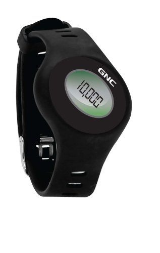 2XS0UN GNC Bluetooth Waist Clip and Watch Band Pedometer, Black