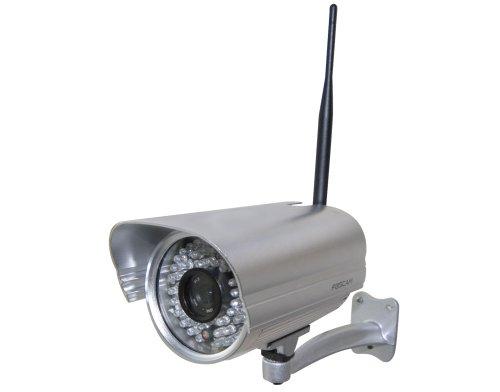 Multi Kon Trade: NEU!!! Foscam FI8906W mit 4mm Linse Wetterfeste IP Kamera * FREE DDNS * MJPEG * 640x480 Pixel * 30m Nachtmodus * WIFI N mit 300MBit/s * 60 IR LEDs für bis zu 30m Nachtmodus Wetterfest * IR Cut * Luxushalterung * 4mm Linse = 60° Winkel * FREE DDNS * Für MAC / Windows / Linux / Android und IP