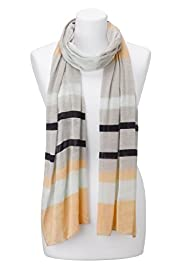 Autograph Striped Scarf