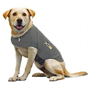 Thundershirt Dog Anxiety Treatment, Large, Solid Grey
