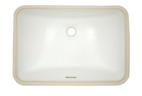 "Great Features Of TOTO Lt542G#01 19"" X 12-38"" Under Counter Lavatory With Sanagloss, Cotto..."