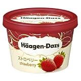 ハーゲンダッツ ストロベリー 120ml ×6個 (冷凍)