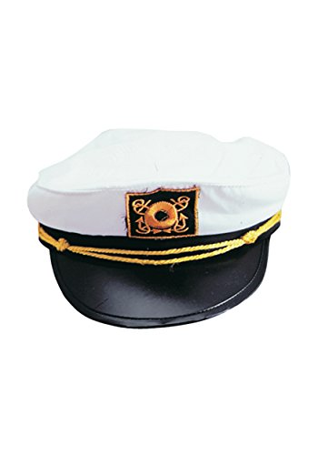 Adult Yacht Captain Hat Costume Accessory-One size