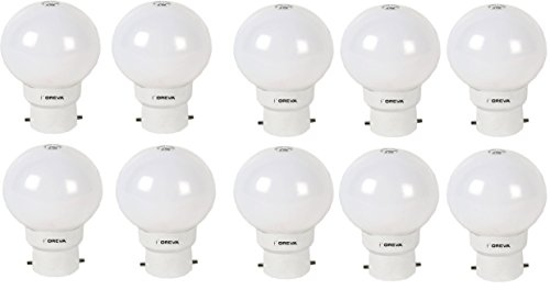 1W LED Bulb (Cool Day Light , pack of 10)