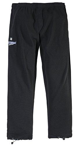 Allsize Aero Sport-Pantaloni tuta con pantaloni Poggiapiedi resistente nero XXXXX-Large