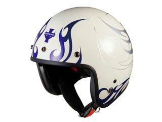 OGKカブト ジェットヘルメット BOB-B ワンピース フリーサイズ(57cm-59cm) 白ヒゲ海賊団/WHITEBEARD PIRATES-7