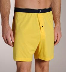 Nautica Hero Knit Boxer (080241) S/Aspen Gold