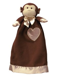 Lovie Babies (small)- Mikey Monkey Security Blanket