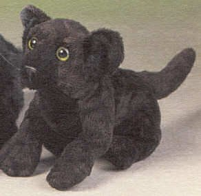 Stuffed Black Panther - Buy Stuffed Black Panther - Purchase Stuffed Black Panther (Leosco, Toys & Games,Categories,Stuffed Animals & Toys,Animals)