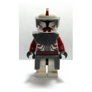 Lego Commander Fox Includes Gray Gear Mini Figure Star Wars