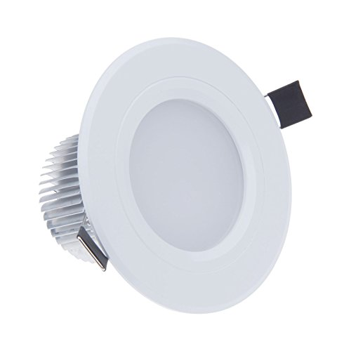 Lemonbest 3W Led Ceiling Can Light Recessed Ceiling Down Light Fixture Kit W Led Driver 3 Watts Cool White