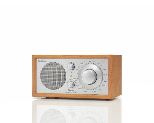 Tivoli Audio M1BTSLC Model One BT Bluetooth AM/FM Radio (Cherry/Silver) (Tivoli Model One compare prices)