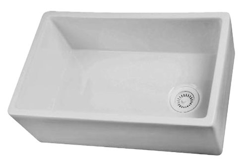 Barclay FS30 30-Inch Fire Clay Farmer Sink, White