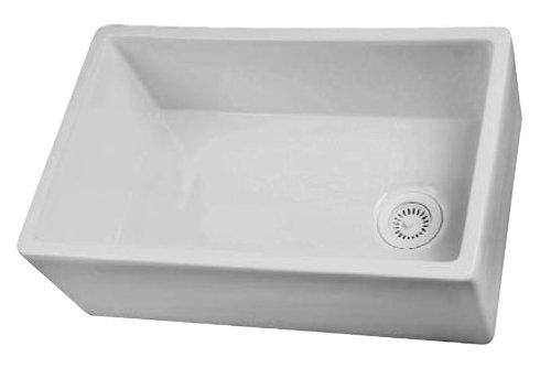 Barclay FS30 30-Inch Fire Clay Farmer Sink, White