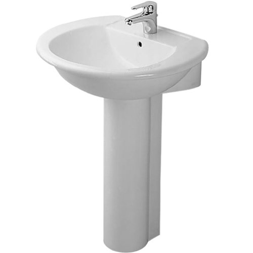 Duravit D1150547 Pergamon Darling Pedestal Sink From Darling Series D11505