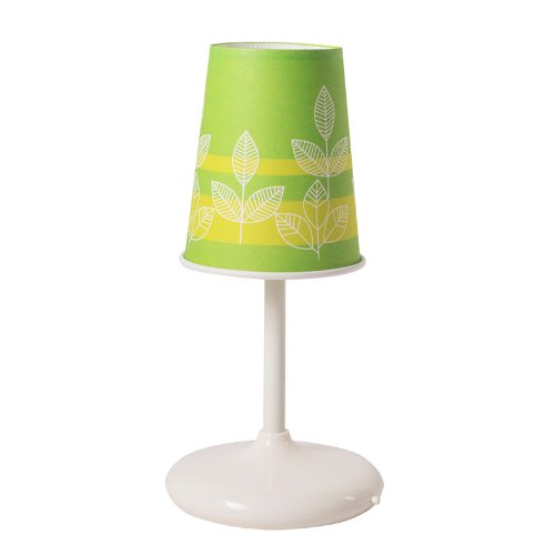 Eco-Friendly Cup Lamp Floral Pattern