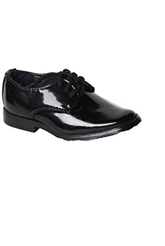 bambino scarpa cerimonia derby nero i colori del modello originale - bianco - P-20
