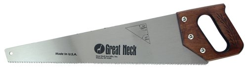 Great Neck SS208 20-Inch Aggressive Tooth Hand Saws- Wood Handle