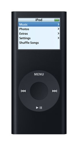 Apple iPod nano 8 GB Black (2nd Generation) OLD MODEL
