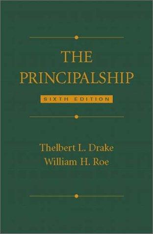 The Principalship (6th Edition)