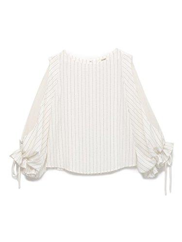 snidel(スナイデル)レディライクフリルブラウス STRIPE F : 服&ファッション小物通販 | Amazon.co.jp