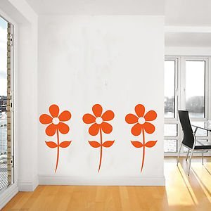 Daisy sticker wall art mural giant large for Daisy fuentes wall mural
