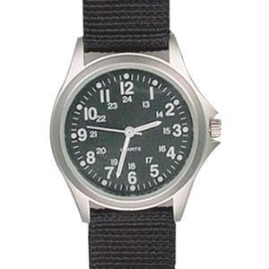 RAM Watches smart deal: RAM Instrument Illuminated Hands Field Watch, Black Nylon Strap, Black Face W1002