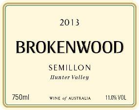 2013 Brokenwood Semillon, Hunter Valley 750 Ml