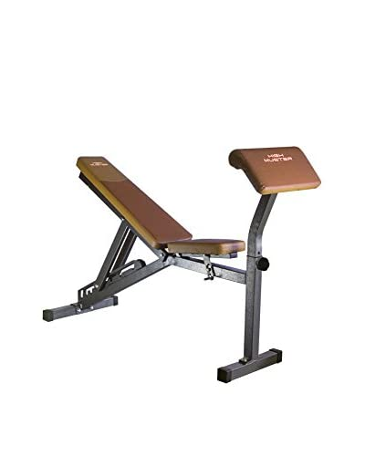 HIGH MUSTER Banco Fitness Multi Bench Marrón