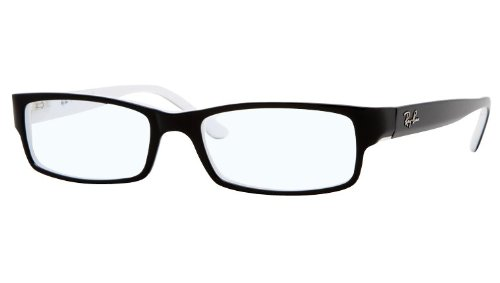 Ray Ban Black White Edge (rx5114-2097)-50 50