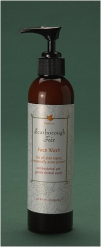 """Scarborough Fair"" Organic Foaming Face Wash with Rosemary, Sage, and Thyme"