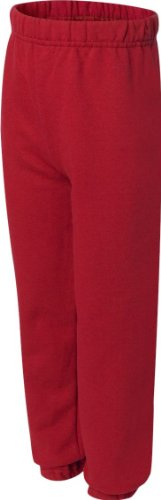 Jerzees Youth Elastic Waist Pill Resistant Fleece Sweatpant,
