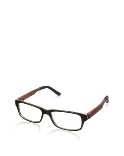 Ivory + Mason Men's Larchmont Eyeglasses, Brown/Cherry