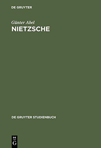 Nietzsche (De Gruyter Studienbuch)  [Abel, Gunter] (Tapa Dura)