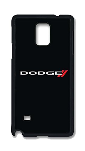 Samsung Galaxy Note 4 Case, Dodge Emblem 1 Drop Protection Never Fade Anti Slip Scratchproof Black Hard Plastic 3D Case (Galaxy Note 3 Dodge Case compare prices)