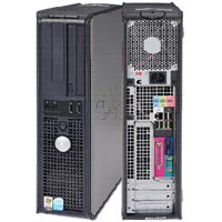 Dell Optiplex - Intel Pentium D - 2GB Ram memory - 160GB Hard drive - CDRW/DVDROM (Combo) - Wireless Internet Ready - Windows XP Pro SP3