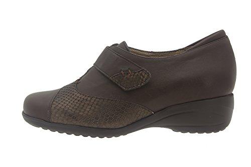 Scarpe donna comfort pelle Piesanto 5981 strappi scarpe casual comfort larghezza speciale