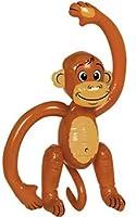 60 cm grosser Affe zum Aufblasen - Hersteller Folat